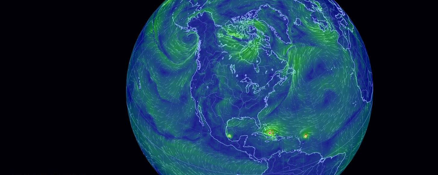 INTERACTIVE GLOBAL MAP OF WIND SPEED