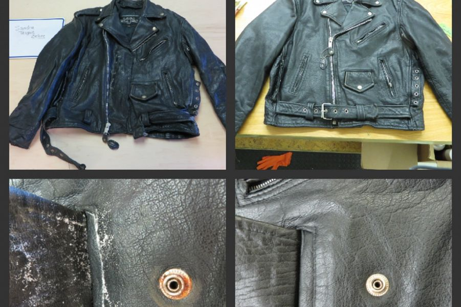 Moldy Leather Jacket